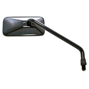 Specchietto retrovisore Bobber lungo nero destro