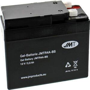 Batteria di accensione JMT YTR4A-BS gel 12V-2.5Ah