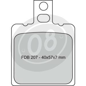 Coppia pasticche freno Ferodo FDB207 Platinum - Foto 2