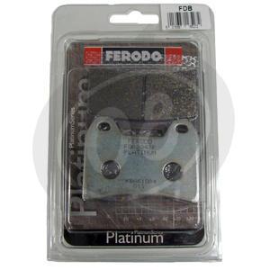 Brake pads Moto Morini 3 1/2 Sport front organic Ferodo