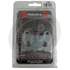 Brake pads Moto Morini 3 1/2 Sport rear organic Ferodo