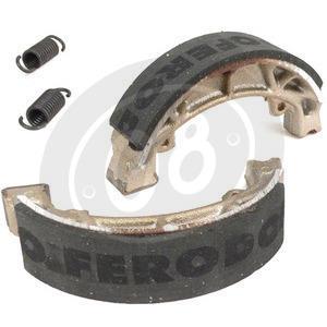 Brake shoes Moto Morini 3 1/2 Sport rear Ferodo