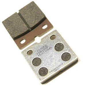 Coppia pasticche freno Ferodo FDB108 Platinum