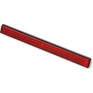 Catarifrangente posteriore 125x15mm autoadesivo rosso