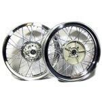 Complete spoke wheel kit Ducati 750 SS 18''x2.15 - 18''x2.15 Ducati 750 SS
