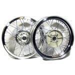 Complete spoke wheel kit Ducati 750 SS 18''x2.15 - 18''x2.50