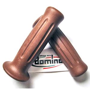Handlebar grips Tommaselli Classic brown
