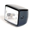 Halogen headlight Cube black