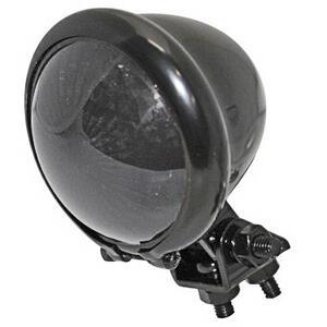 Led tail light Bates black smoked lens