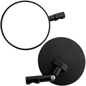 Rearview mirror bar-end Cafe Racer Type2 adjustable black pair