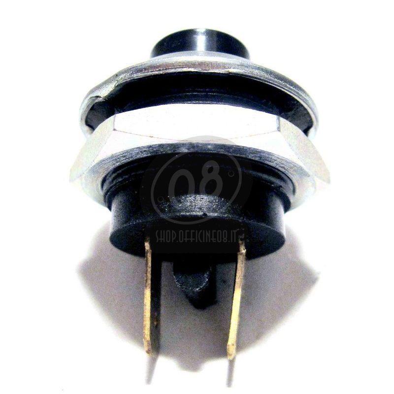 Pulsante a vite 22mm nero - Foto 2