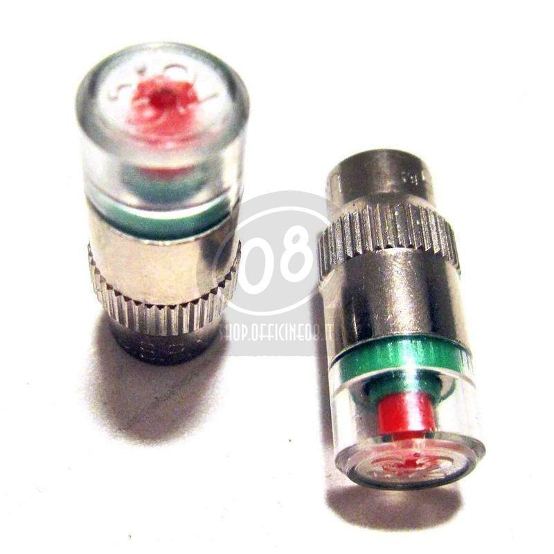 Tappo valvola pneumatici 1.4-3.0Bar coppia - Foto 2