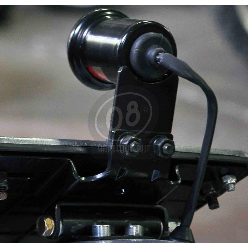 Fanalino posteriore led Old School Type3 nero con portarga - Foto 3