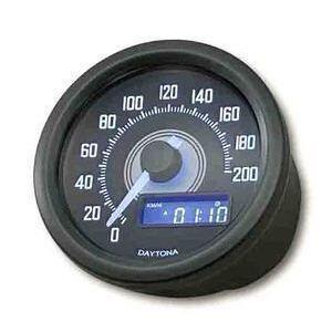 Electronic speedometer Daytona60 200Km/h black