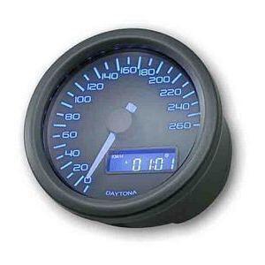 Electronic speedometer Daytona 260Km/h black