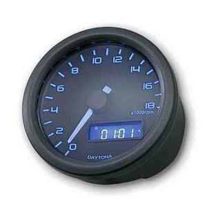 Electronic tachometer Daytona60 18K black