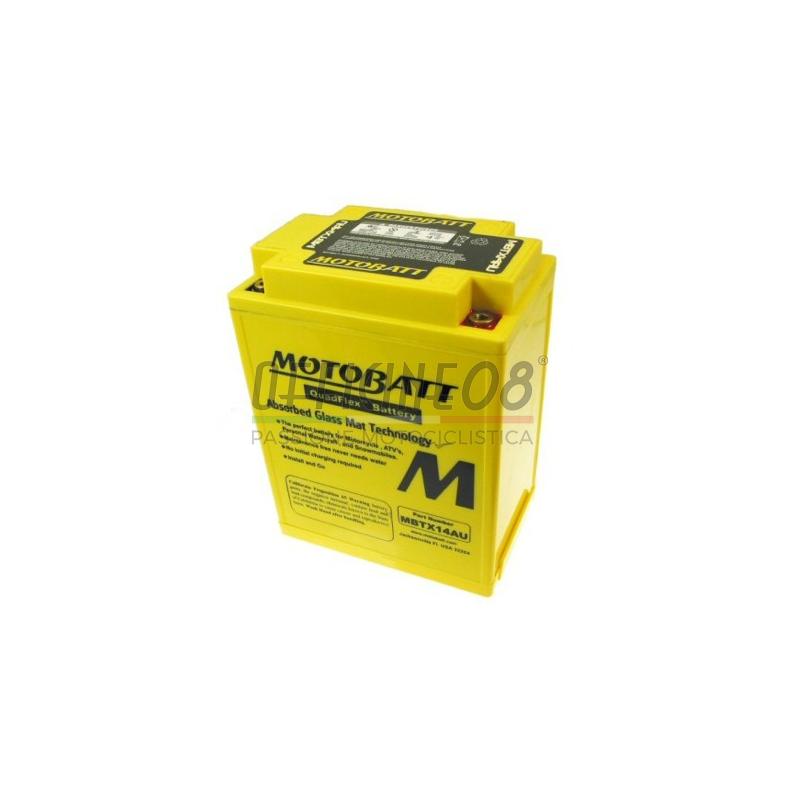 Batteria di accensione Motobatt MBTX14AU 12V-16.5Ah