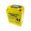 Batteria per Honda CB 750 Four K1 sigillata Motobatt 12V-16.5Ah