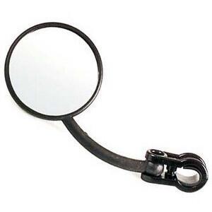 Specchietto retrovisore Enduro nero destro