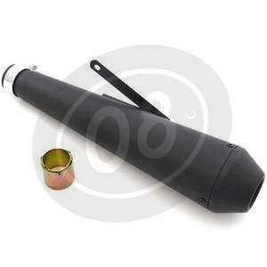 Exhaust muffler Megaton black - Pictures 2
