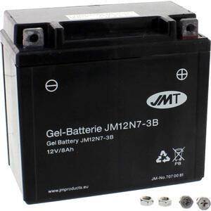 Batteria di accensione JMT 12N7-3B gel 12V-7Ah