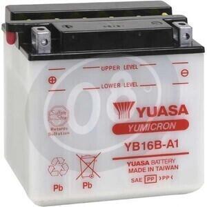 Batteria di accensione Yuasa YB16B-A 12V-16Ah