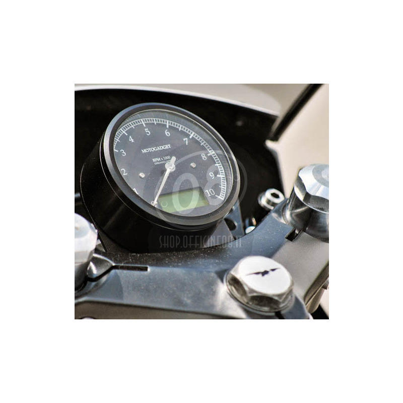 Electronic multifunction gauge Motogadget ChronoClassic Tacho 10K - Pictures 2