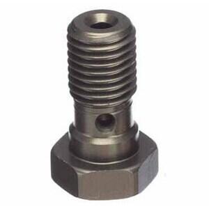 Bullone forato M10x1,25 singolo testa svasata alluminio titanio