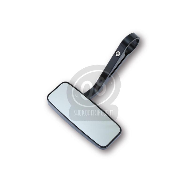 Specchietto retrovisore bar-end Highsider Streetfighter nero - Foto 4