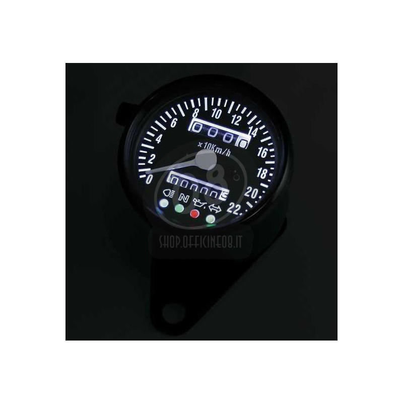 Mechanical speedometer Classic K=1.4 control lights - Pictures 3