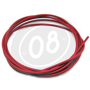 Guaina cavi comandi al manubrio 5,5mm rosso