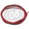 Guaina cavi comandi al manubrio 4,5mm rosso
