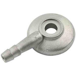Raccordo tubo benzina carburatore Dell'Orto 6mm dritto alluminio