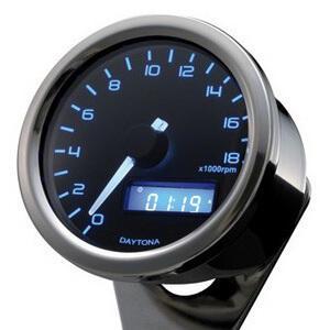 Electronic tachometer Daytona60 18K polish