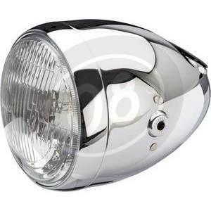 Halogen headlight 5.3/4'' Daytona Vintage chrome
