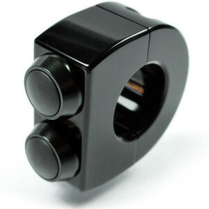 Button set Motogadget 22mm M-Switch 2 black