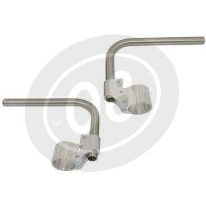 Clip-ons 38mm Verlicchi high rise