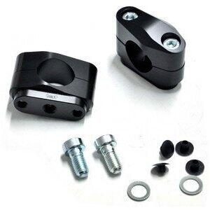 Coppia riser ABM 40mm manubrio 28,5mm nero