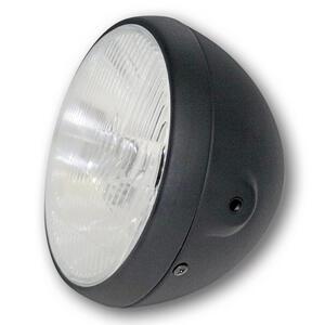 Halogen headlight 7'' British black