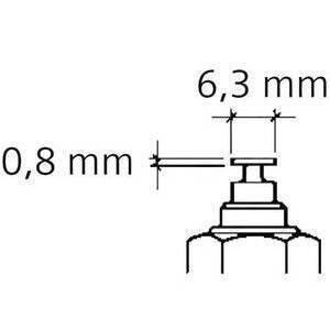 Sensore temperatura acqua/olio VDO M12x1.5 - Foto 2