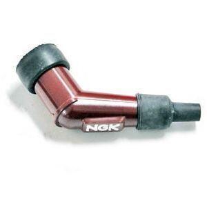 Cappuccio candela NGK YB05F-R 120° 14mm corto rosso