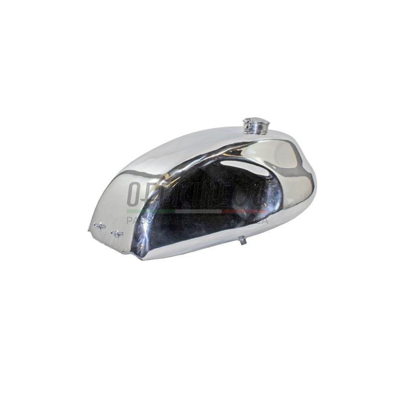 Serbatoio benzina per Moto Guzzi Serie Grossa Classic tappo Monza alluminio