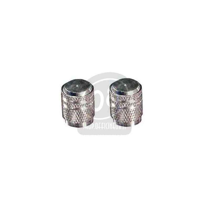 Tire valve stem caps pair