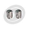 Tire valve stem caps pair - Pictures 1