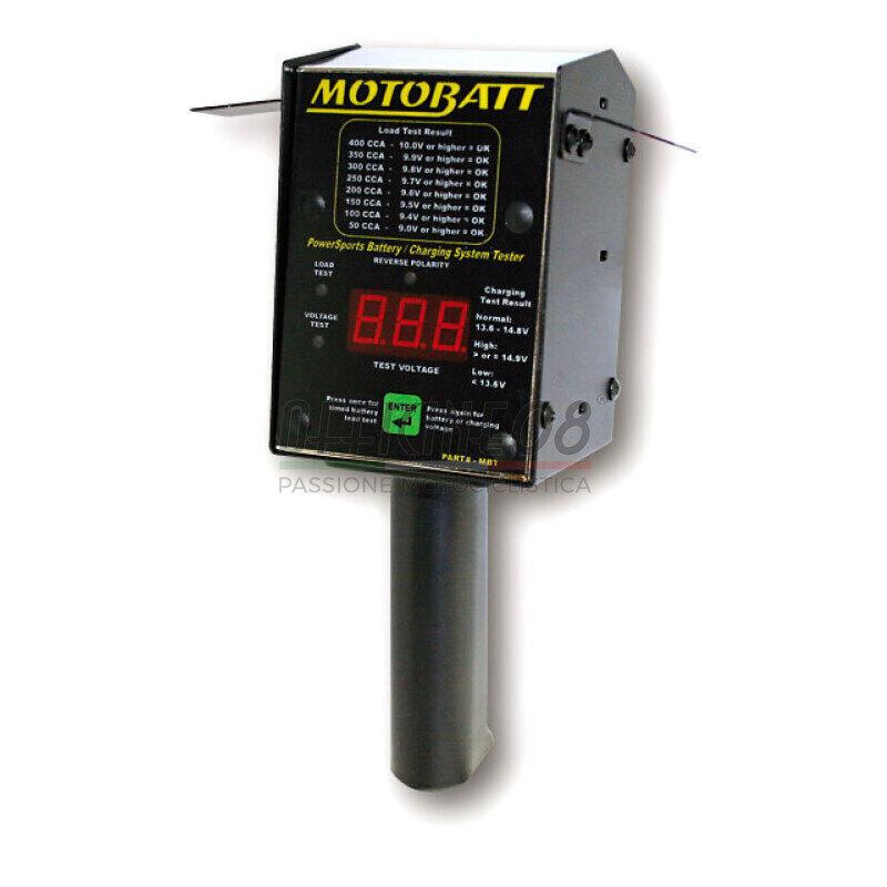 Indicatore di carica batteria MotoBatt 6-12V