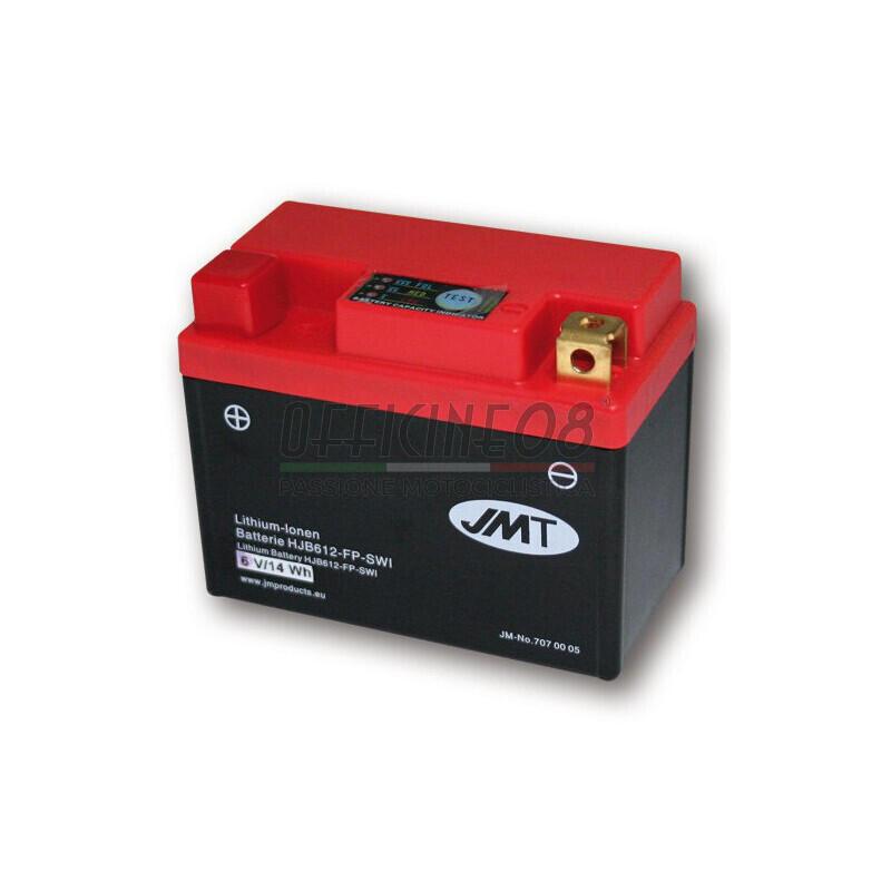 Batteria Li-Ion JMT 6V-180A, 2,5Ah
