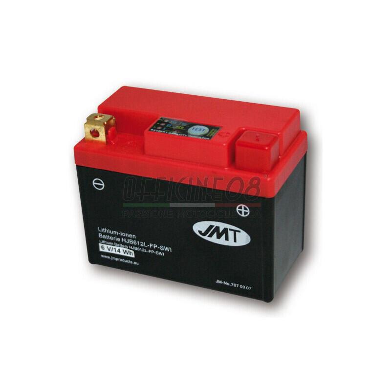Batteria Li-Ion JMT 6V-240A, 2,5Ah