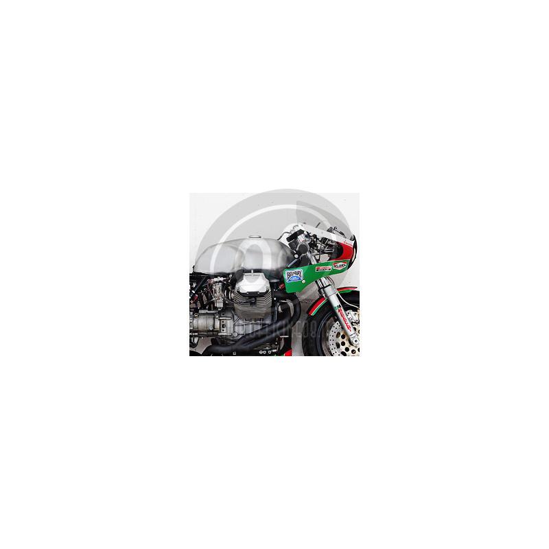 Serbatoio benzina per Moto Guzzi 850 Le Mans Endurance alluminio - Foto 2