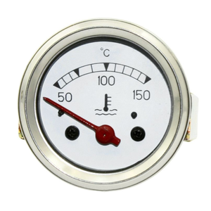 Analog manometer oil pointer red