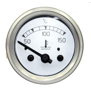 Analog manometer oil pointer black